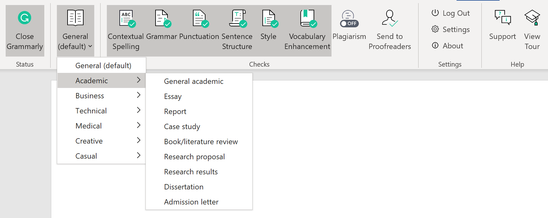 How does Grammarly for MS Office work? – Grammarly Support